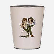 Redneck Wedding Shot Glass