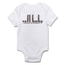 Soft Baby... growin' up crunchy! Infant Bodysuit