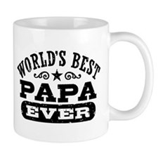 World's Best Papa Ever Small Mug
