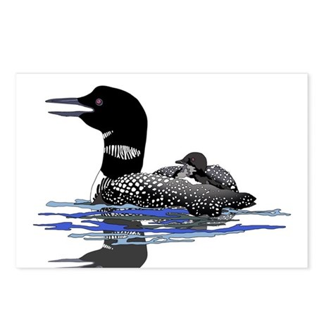 Calling Loon Postcards (Package of 8)