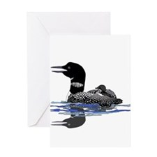 Calling Loon Greeting Card