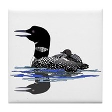 Calling Loon Tile Coaster