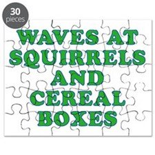 Waves at Squirrels and Cereal Boxes Puzzle