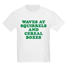 Waves at Squirrels and Cereal Boxes T-Shirt