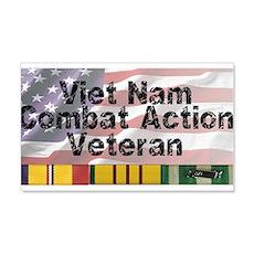 VN Combat Vet Wall Decal