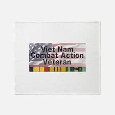 VN Combat Vet Throw Blanket