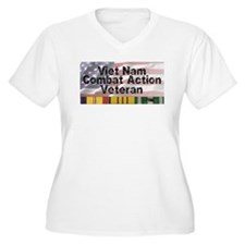 VN Combat Vet Plus Size T-Shirt