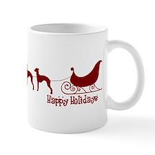 "Italian Greyhound ""Sleigh"" Mug"