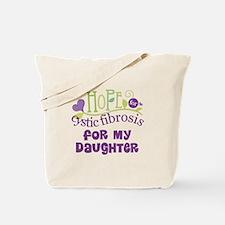 Daughter Cystic Fibrosis Hope Tote Bag