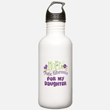 Daughter Cystic Fibrosis Hope Water Bottle