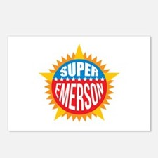 Super Emerson Postcards (Package of 8)