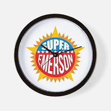 Super Emerson Wall Clock