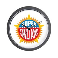 Super Emiliano Wall Clock