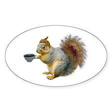 Beatnik Squirrel Decal