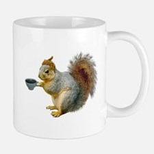 Beatnik Squirrel Mug