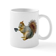 Beatnik Squirrel Small Mug