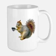 Beatnik Squirrel Large Mug
