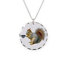 Beatnik Squirrel Necklace