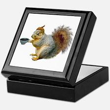 Beatnik Squirrel Keepsake Box