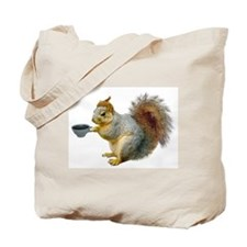 Beatnik Squirrel Tote Bag