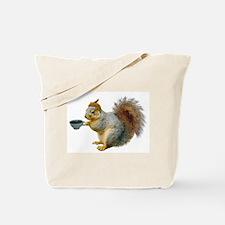 Beatnik Squirrel Tote Bag
