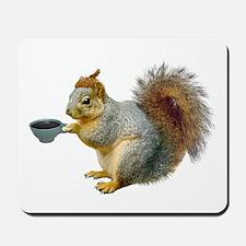 Beatnik Squirrel Mousepad