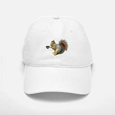 Beatnik Squirrel Baseball Baseball Cap