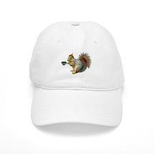 Beatnik Squirrel Baseball Cap