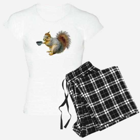 Beatnik Squirrel Pajamas