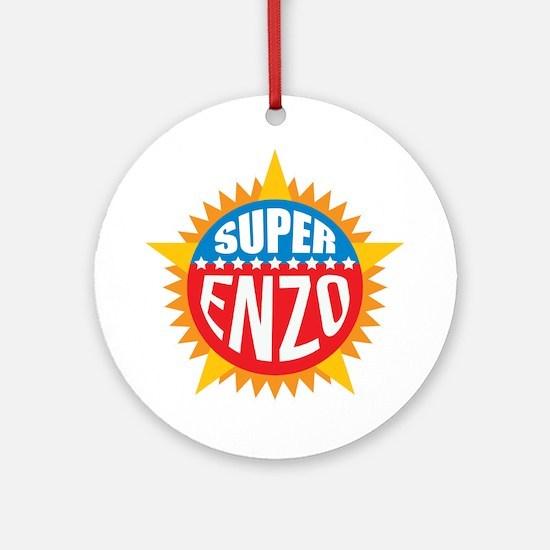 Super Enzo Ornament (Round)