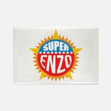 Super Enzo Rectangle Magnet