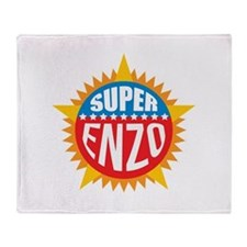 Super Enzo Throw Blanket
