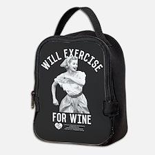 Lucy Wine Neoprene Lunch Bag