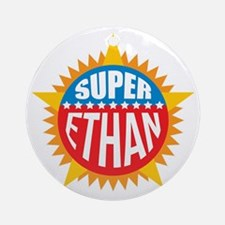 Super Ethan Ornament (Round)