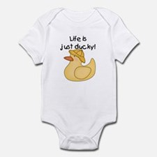Just Ducky Infant Body Suit