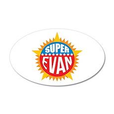 Super Evan Wall Decal