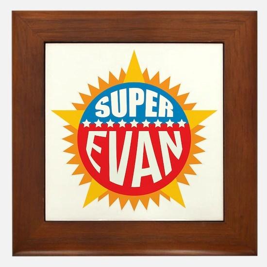 Super Evan Framed Tile