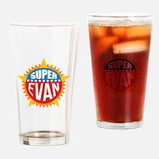Super Evan Drinking Glass