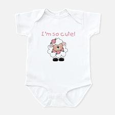 I'm So Cute Infant Body Suit