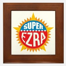 Super Ezra Framed Tile