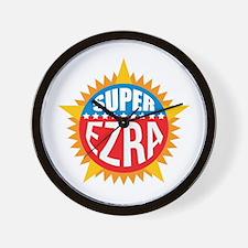 Super Ezra Wall Clock