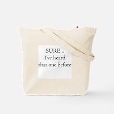 I swear Tote Bag
