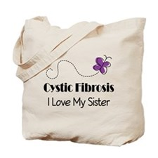 Sister Cystic Fibrosis Support Tote Bag