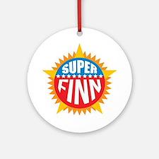 Super Finn Ornament (Round)