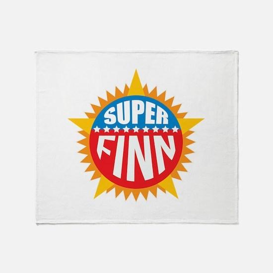 Super Finn Throw Blanket