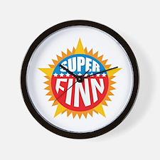 Super Finn Wall Clock