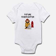 Future Firefighter (girl) Infant Body Suit