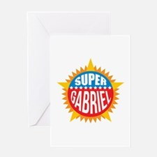 Super Gabriel Greeting Card