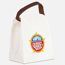 Super Gabriel Canvas Lunch Bag