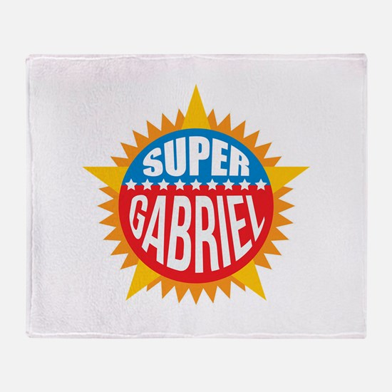 Super Gabriel Throw Blanket